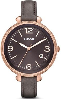 Fossil HEATHER GREY LEATHER LADIES Watch ES3216 BY Fossil