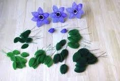 french beaded flowers tutorial - Google Search