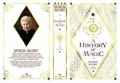 A History of Magic by Batilda Bagshot book sleeve! Aaaaaaw yiiiis!