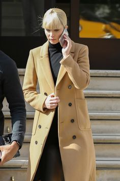 Jennifer Lawrence on the set of Red Sparrow