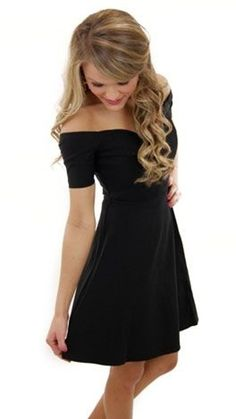 Off the Shoulder LBD