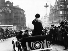 Prime Minister Winston Churchill visited the City of Liverpool on 25th April 1941, just days before the most intense week of Luftwaffe bombing began.