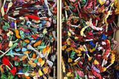 Sticktwist und Perlgarn in diversen Farben Colors