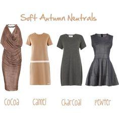 soft autumn polyvore | Soft Autumn Neutrals, created by jjeanine on ... | Soft Autumn/Soft S ...