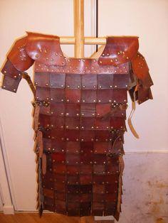 square plate armour