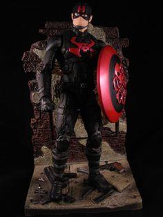 Captain Hydra V2.0 (Marvel Legends) Custom Action Figure