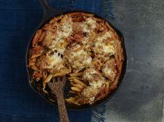 Chipotle Chicken Pasta Casserole (Cazuela de Pasta con Pollo y Chipotle)