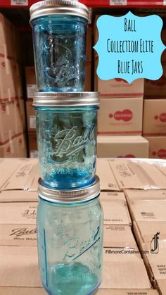 New Blue Ball Elite Jars and Giveaways from Fillmore!