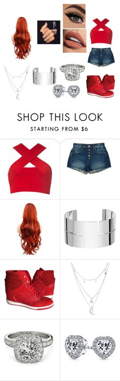 """going to ringside with Enzo Amore and Big Cass"" by elvira-marie-hernandez on Polyvore featuring Motel, BLANKNYC, Sephora Collection, Dinh Van, Louis Vuitton, Charlotte Russe, Allurez and Bling Jewelry"