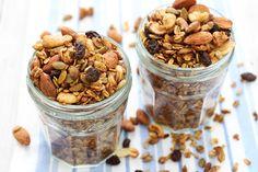 homemade sugar free granola