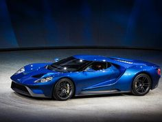 Blueberry lollypop (2016 Ford GT: Preview - CNET)