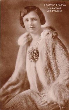Princess Marie Louise of Prussia (1897-1938) nee Her Serene Highness Princess Marie Louise of Schaumburg-Lippe