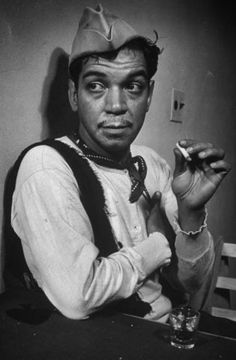 """Cantinflas (1911 - 1993) Mexican actor, played Passepartout in the movie """"Around the World in Eighty Days"""""""