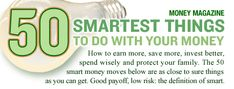 50 Smartest things to do with your money