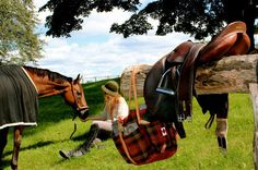 Such a peaceful scene. Senior Pics, Senior Pictures, Competition Accessories, Tack Trunk, All The Pretty Horses, Equestrian Style, Ponies, Countryside, Knight