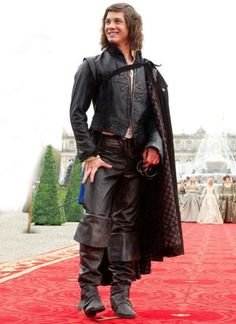 Uncomfortable Movie Costumes: Logan Lerman as D'Artagnan in The Three Musketeers