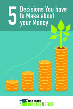 5 Decisions You have to Make about your #Money by Wendi Williams of @playgrounddad #parenting #teaching
