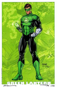 Green Lantern by Jim Lee [© All Rights Reserved]