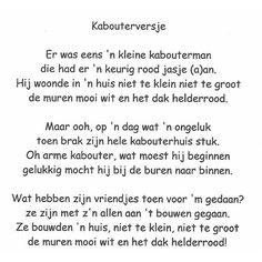 Versje Kids Poems, Rudolf Steiner, Nursery Rhymes, Me Quotes, Verses, Kindergarten, Poetry, Math Equations, Songs