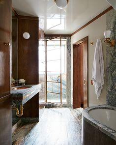 STEPHEN KENT JOHNSON Interior Styling, Interior Decorating, Home Nyc, Art Deco, Bathroom Interior Design, Eclectic Bathroom, Bathroom Inspiration, Interior Inspiration, Cheap Home Decor