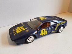 Vintage Large Sized Diecast Car Ferrari Revell 1998 China 7 Inch Race Car