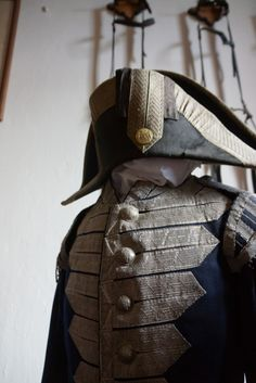 Early 19th Century naval officer's uniform