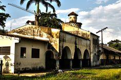 la vieja estacion del tren villeta(cundinamarca) colombia