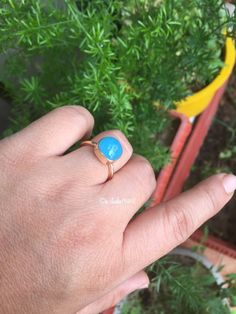 Hey, I found this really awesome Etsy listing at https://www.etsy.com/listing/288016845/blue-chalcedony-gold-ring-18k-gold-ring