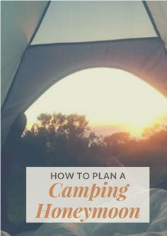 When all the wedding planning and festivities have ended, get cozy with your new spouse around a campfire. Use these tips to decide where you want to go, what you need to bring and how you'll stay busy during the day. Planning ahead makes your honeymoon the least hectic and most romantic camping vacation possible. How to Plan a Camping Honeymoon http://www.active.com/outdoors/articles/How-to-Plan-a-Camping-Honeymoon.htm?cmp=23-243-1485
