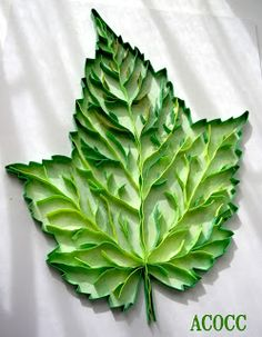 A Can of Crafty Curiosities: Quiller Maple Leaf and Oak Leaf