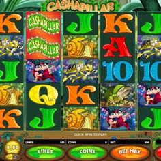 Cashapillar is a five reel improved 100 paylines Online Slot Game after the game. Caterpillar is Online Slot Game the wild Free Slots Casino, Online Casino Slots, Casino Slot Games, Online Casino Games, Online Gambling, Best Online Casino, Free Slot Games, Play Slots, Slot Machine