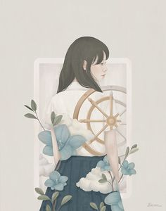 Tarot / 2016 / Digital Painting / ⓒ ENSEE - Choi Mi Kyung