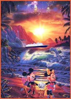 wondersofdisney.webs.com mickeymouse mickey-minnie mick-minbeach disisle.jpg