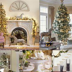 A golden Christmas.