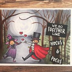 Cool Birthday Cards, We Go Together, Hocus Pocus, Flower Cards, Waffle, Florence, Card Ideas, Stamps, Snoopy