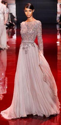 Elie Saab 2014 *my word...that dress is stunning!*  African American Bride, Black Bride. by circle