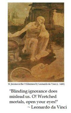 Leonardo da Vinci on Ignorance