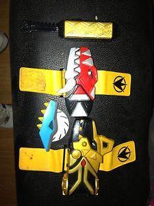Power Rangers Dino Thunder Brachio Morpher & Key With Another Morpher