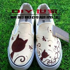 Hand Paint Shoes ( Canvas)