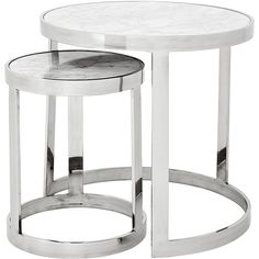 Eichholtz Side Table | Pavilion Broadway ($1,605) ❤ liked on Polyvore featuring home, furniture, tables, accent tables and table