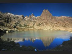 Le lac de Melu, en Corse, s'étend sur plus de 6 hectares (France).