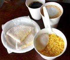 Sugestões de café da manhã do Mocotó Café: tapioca com queijo coalho, cuscuz nordestino, café Yaguara e macchiato com café Terroá Coffee Lab, Low Carb, Pudding, Vegan, Breakfast, Ethnic Recipes, Desserts, Foodies, Fitness