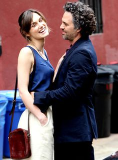 """Keira Knightly and Mark Ruffalo - """"Can a Song Save Your Life? Mark Ruffalo Keira Knightley, Adam Levine Movie, Female Knight, Nicholas Hoult, Latest Celebrity News, Bruce Banner, Romantic Movies, Actors & Actresses, Movie Tv"""