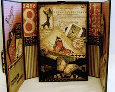 Memory Box and Keepsake Album by Clare Charvill of Graphic 45