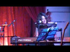 live @ HArlem Cafe 2013 music & words by christa elmer
