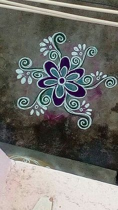 Simple Rangoli Designs Images, Rangoli Designs Flower, Rangoli Border Designs, Rangoli Patterns, Colorful Rangoli Designs, Rangoli Ideas, Rangoli Designs Diwali, Beautiful Rangoli Designs, Tree Designs