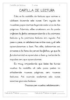 Cartilla de lectura  cartilla de lectura Pascal Campion, Math Equations, Education, Words, Reading Comprehension, Note Cards, Onderwijs, Learning, Horse