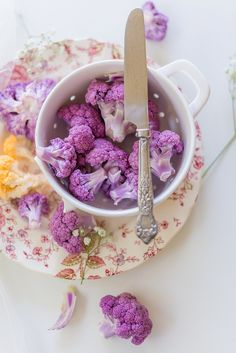 Purple Cauliflower | Au Petit Goût - Elizabeth Gaubeka