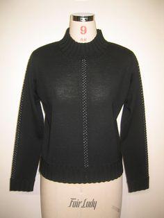 黒 ニット レディース ファッション