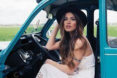 Road Trip in the Perfect Maxi Dress | Negin Mirsalehi
